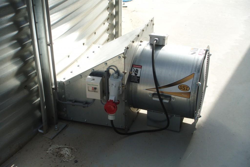 ventilatie silo klein