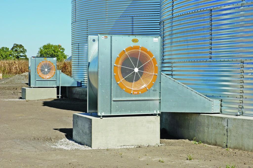 ventilatie silo groot
